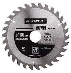 Диск STAYER OPTI-Line пильный по дереву 160х16мм, 24Т - фото 10221