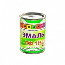 """Эмаль ПФ-115 белая,0,9кг """"Палитра"""" - фото 10699"""