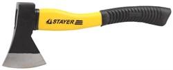 Топор STAYER кованый, с двухкомпонентными пластиковыми ручками 0,8 кг - фото 10903