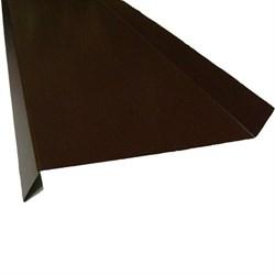 Отлив п/э коричневый 0.10*2.5м ( 8017) - фото 13935