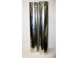 Труба  оцинкованная  D95мм, длина-1.25м - фото 13949