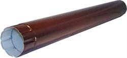 Труба п/э коричневый д. 95 мм, длина-1.25м 8017 - фото 13953