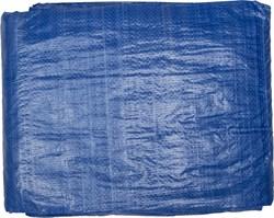 Тент-полотно STAYER MASTER универсальный, из тканого полимера плотностью 65г/м3, с люверсами, водонепроницаемый, 4х5м, синий - фото 15788