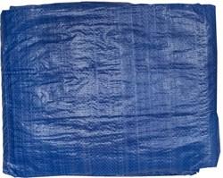 Тент-полотно STAYER MASTER универсальный, из тканого полимера плотностью 65г/м3, с люверсами, водонепроницаемый, 6х10м, синий - фото 15789