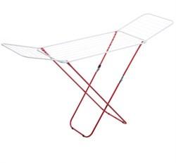 Сушилка для белья напольная MasterHouse Калахари, 180x110x55см, складная, максимальная длина 18м, белая - фото 28892
