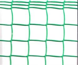 Сетка-решетка садовая Ф-50/1/10, ячейка 50x50мм, пластиковая, с кромкой, хаки и зеленая, рулон 1x10м - фото 30047