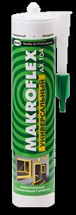 Герметик  МАКРОФЛЕКС универсальный прозрачн. - фото 8451