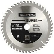 Диск STAYER SUPER-Line пильный по дереву 165х20 мм 40Т