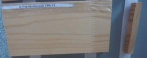 Добор дверной коробки 100x12x2200мм, хвойных пород