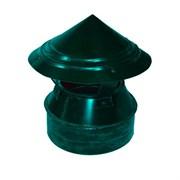 Флюгарка п/э зеленая д.150мм