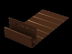 J-фаска (ПВХ) 200.Н.497С. Коричневая