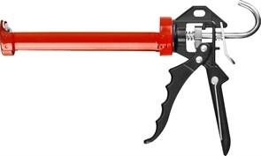 Пистолет для герметика ЗУБР ПРОФЕССИОНАЛ скелетный, с усиленным поворотным корпусом, с шестигранным штоком, 310 мл