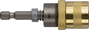 Адаптер ЗУБР магнитный для бит, фиксатор, ограничитель глубины вворачивания шурупов 60мм
