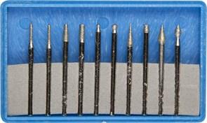 Набор ЗУБР мини-насадки с алмазным напылением 10 предметов