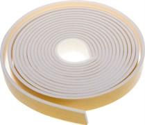 Утеплитель (уплотнитель) поролоновый для окон самоклеящийся 8ммx14м