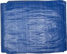 Тент-полотно STAYER MASTER универсальный, из тканого полимера плотностью 65г/м3, с люверсами, водонепроницаемый, 4х5м, синий