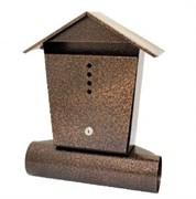 Ящик почтовый Домик, 390x310мм, антик/бронза, с замком