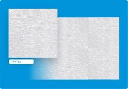 Плитка  потолочная инжекционная Люкс Формат, 50x50см, бесшовная, пенополистирол, Путц, белая, упаковка 8шт. (2м2)