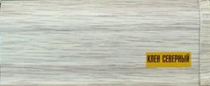 Наличник с кабель-каналом ИДЕАЛ КК, 70мм, 2.2м, ПВХ, клен северный