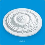Розетка потолочная Лагом Формат Р240А, диаметр 240мм, инжекционный пенополистирол, белая