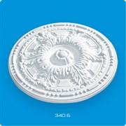 Розетка потолочная Лагом Формат Р340Б, диаметр 340мм, инжекционный пенополистирол, белая
