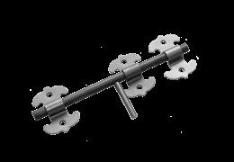 Засов универсальный фигурный ЗУФ-300   б/п
