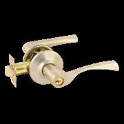 НМ ЗВ2-01-Э (Матовый Никель) защелка м/к (ключ/фиксатор)