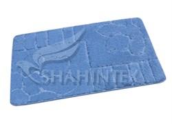 Коврик PP LUX SHAHINTEX 80*120 голубой-11