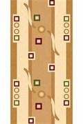 Ковёр коллекции KAMEA 5462/ 0.8*1.5м OVAL-CREAM