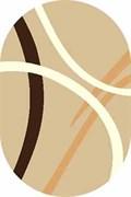 Ковёр коллекции SHAGGY ULTRA/s606/ 2.0*3.0м OVAL-BROWN