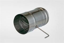 Задвижка ( шибер нержавеющая сталь 0.5мм) диаметр 110 поворотная