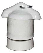 Электрический патрон Е27 подвесной керамика УК02 Монашка