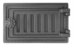 Дверка ВЕЗУВИЙ  поддувальная ДП-2 (Антрацит) 140*250