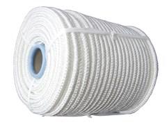 Шнур плетеный 16-прядный капроновый Д- 1,2мм, р/н 85кгс