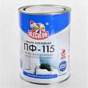 Эмаль ПФ-115 серая алкидная 0,8кг OLECOLOR