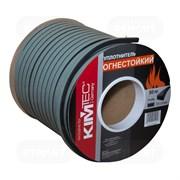 Уплотнитель KIM TEC для окон и дверей, профиль SD-84/4, огнестойкий, Черный, 15x8мм, в упаковке 50м (на метраж)