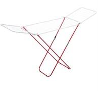 Сушилка для белья напольная MasterHouse Калахари, 180x110x55см, складная, максимальная длина 18м, белая