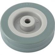 Колесо хозяйственное Сибртех, полиуретановое, диаметр 75мм, грузоподъемность 50кг