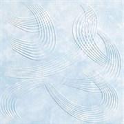 Плитка  потолочная экструзионная Лагом декор Формат 3102, 50x50см, пенополистирол, голубая, упаковка 8шт. (2м2)