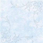 Плитка  потолочная экструзионная Лагом декор Формат 3802, 50x50см, пенополистирол, голубая, упаковка 8шт. (2м2)