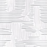 Плитка  потолочная инжекционная Люкс Формат, 50x50см, бесшовная, пенополистирол, Норма, белая, упаковка 8шт. (2м2)