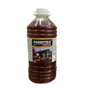 Олифа FARBITEX/Фарбитекс для грунтовки и пропитки дерева на натуральном масле, матовая, 1л