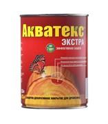 Средство для защиты древесины Акватекс Экстра, 0.8л, алкидное, глянцевое, белый