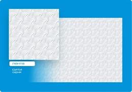 Плитка  потолочная инжекционная Люкс Формат, 50x50см, бесшовная, пенополистирол, Лента, белая, упаковка 8шт. (2м2)