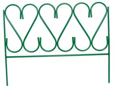Забор декоративный «ИЗЯЩНЫЙ» 0,69*0,53 м 5 секций