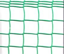 Сетка-решетка садовая Ф-50/1/10, ячейка 50x50мм, пластиковая, с кромкой, хаки и зеленая, рулон 1x10м