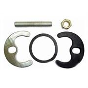 Крепление для смесителя Елочка №1, 1 шпилька с резиновой прокладкой