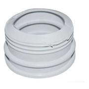 Манжета сантехническая 40x50мм, переходная, полимерная, удлиненная, исполнение 2, белая