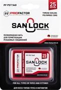 Нить полиамидная San-Lock-Professional для герметизации резьбовых соединений на газ и воду, 25м