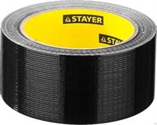 Лента/скотч STAYER MASTER UNIVERSAL, 50ммx10м, клейкая, армированная, на тканевой основе, водостойкая, черная